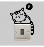 Sticker intrerupator pisicuta WLI006