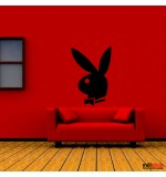 sticker de perete playboy