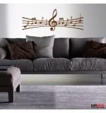 autocolant de perete portativ muzical