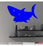 autocolant rechin
