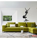 Wall sticker funny WLD046
