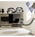 Wall sticker minion WLD050