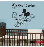 Sticker nume pentru copii Mickey Mouse WCNC29
