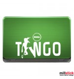 Sticker laptop tango WL0043