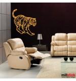 autocolant tigru