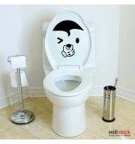 Sticker wc umbrela WBF042
