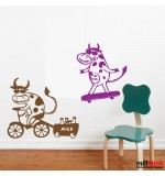 Wall sticker vacute WCA839