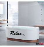 Sticker baie relax WBF025