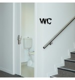 wall sticker decorativ wc