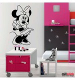 Sticker Minnie WCWD24
