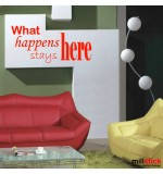 Sticker what happens WLT233