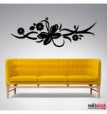 Sticker fluture abstract WLA019