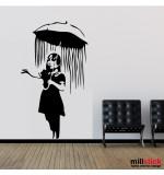 Sticker perete let it rain WLBS12