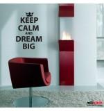Sticker dream big WLKC08
