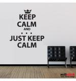 Wall sticker keep calm WLKC10