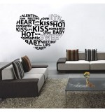 autocolant decorativ love