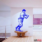 wallsticker decorativ jucator baseball