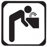 Sticker apa potabila WSI001