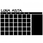 Sticker calendar de scris cu creta WLTC01