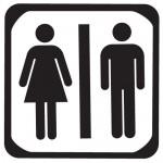 Sticker femeie barbat WSI005