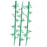 Sticker perete bambus WLC124
