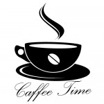 Sticker caffee time WLD008