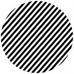 Sticker cerc de linii WLR016