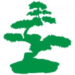 Sticker bonsai WLC217
