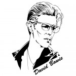 Sticker David Bowie WLCB09