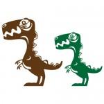 Sticker dinozauri WCA506