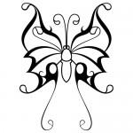 Autocolant fluture WLAN10