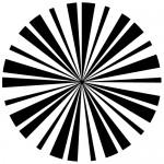 Sticker cerc de linii  WLR021