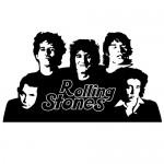 Sticker Rolling Stones WLCB18
