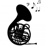 Sticker trompeta WLM003