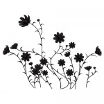 Sticker baie floricele WBF029