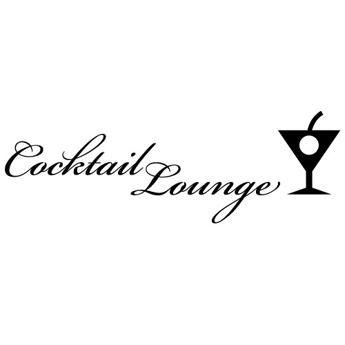 Sticker cocktail lounge WLT118