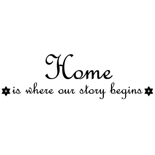 Sticker home story WLT130