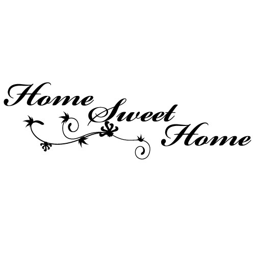 Sticker home sweet home WLT131