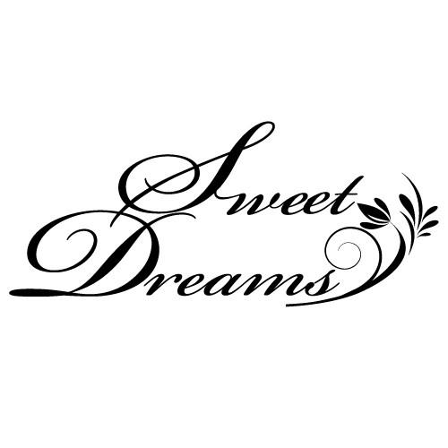 Sticker sweet dreams WLT223