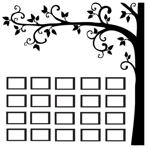 Sticker family tree WLC329