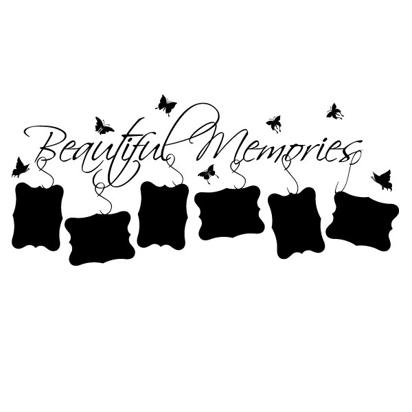 Sticker beautiful memories WLT143
