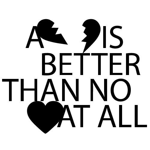 Sticker a broken heart WLT101