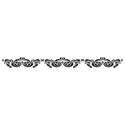 Sticker bordura decorativa WLBD05