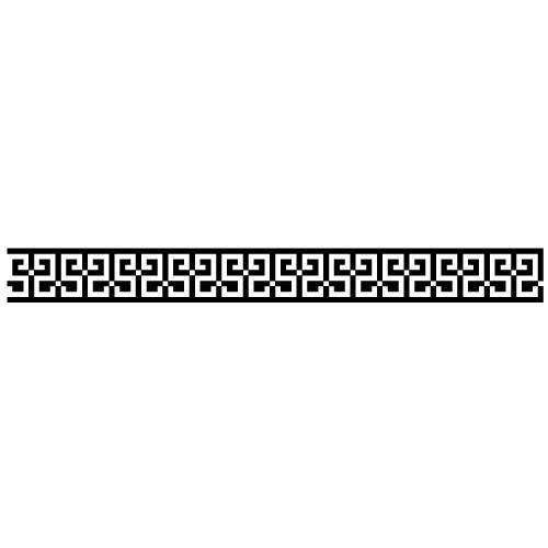 Sticker bordura decorativa WLBD06