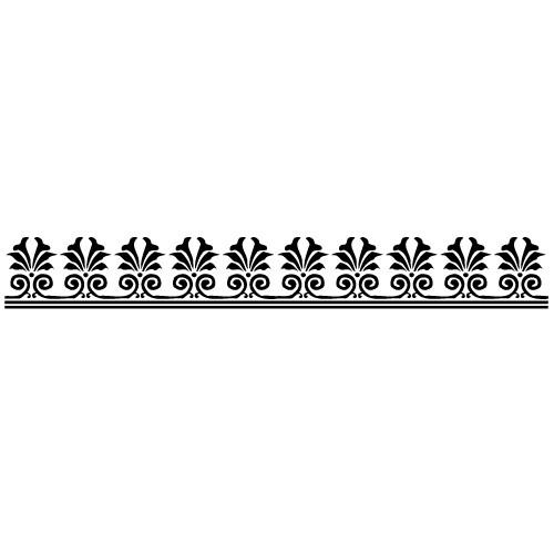 Sticker bordura decorativa WLBD07