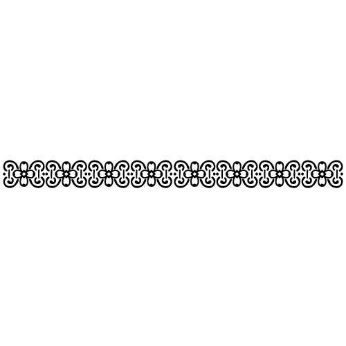 Sticker bordura decorativa WLBD09