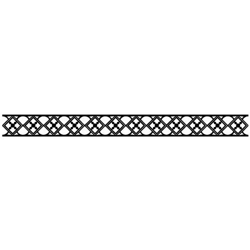 Sticker bordura decorativa WLBD11