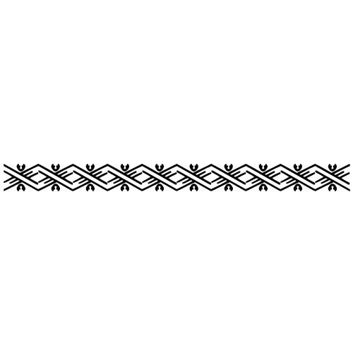 Sticker bordura decorativa WLBD12