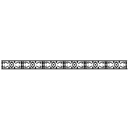 Sticker bordura decorativa WLBD15