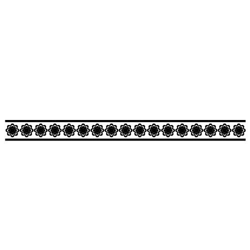 Sticker bordura decorativa WLBD20